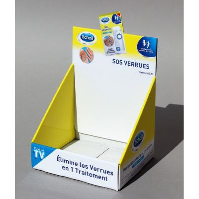 Objectif-PLV-Présentoir SOS VERUES