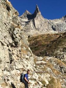 La marche d'approche de la Dibona (2)