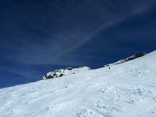 Le sommet - Grand Paradis