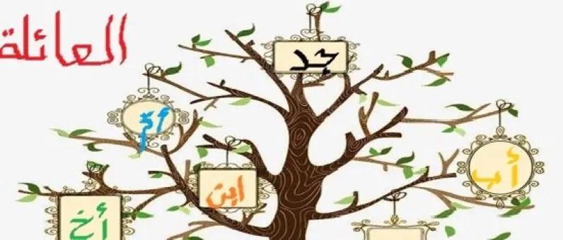 la famille en arabe