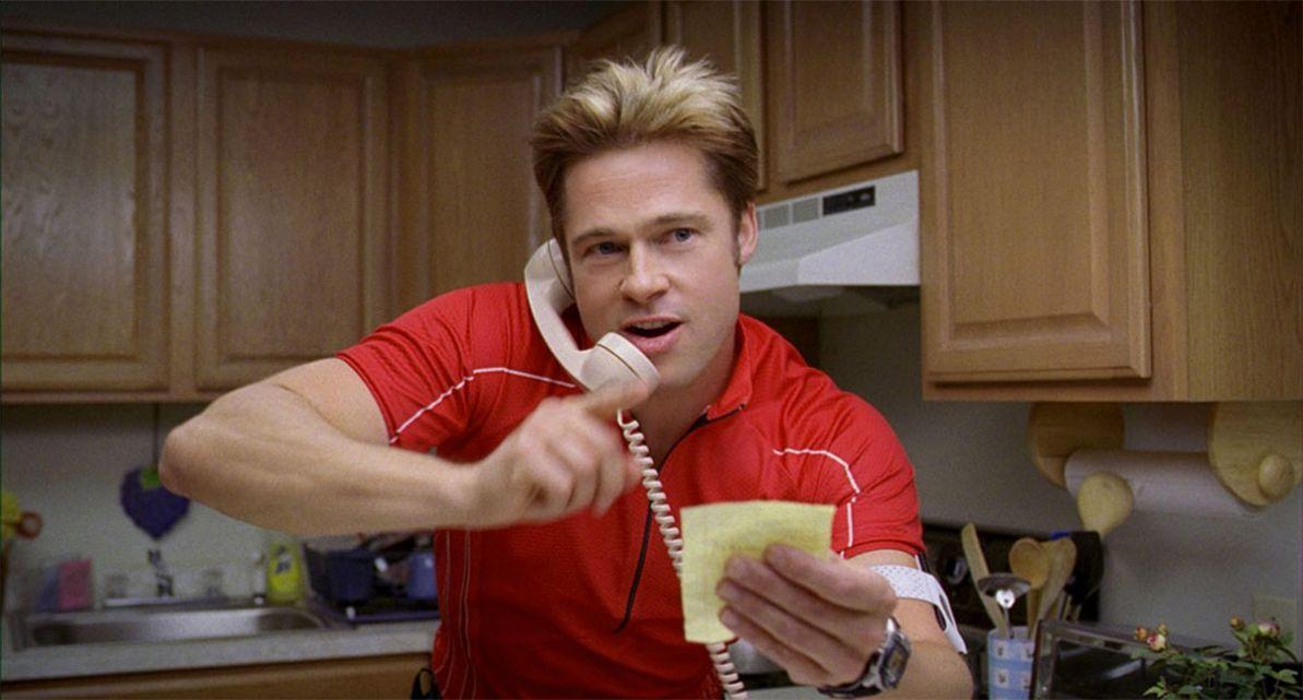 Brad Pitt Burn After Reading
