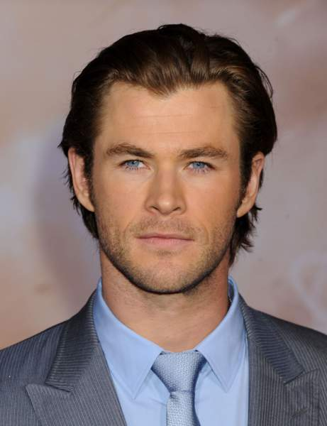 Chris Hemsworth Cheveux courts