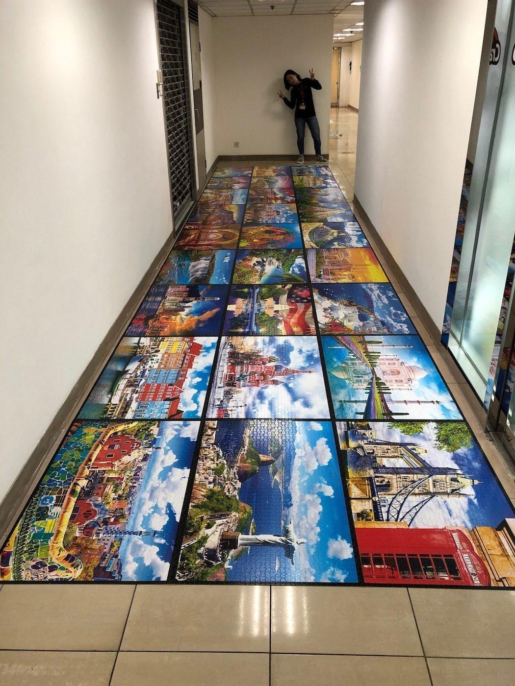 Plus grand puzzle du monde Kodak