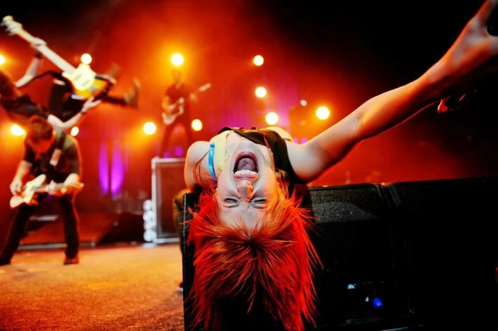 Paramore Live by Lindsey Byrnes