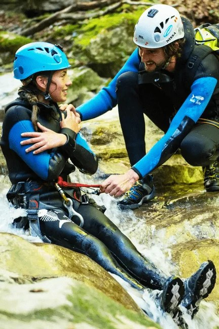 Bucket List activites france - Canyoning Angon