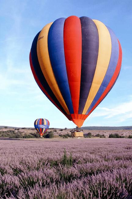 Bucket List activites france - Montgolfiere Provence