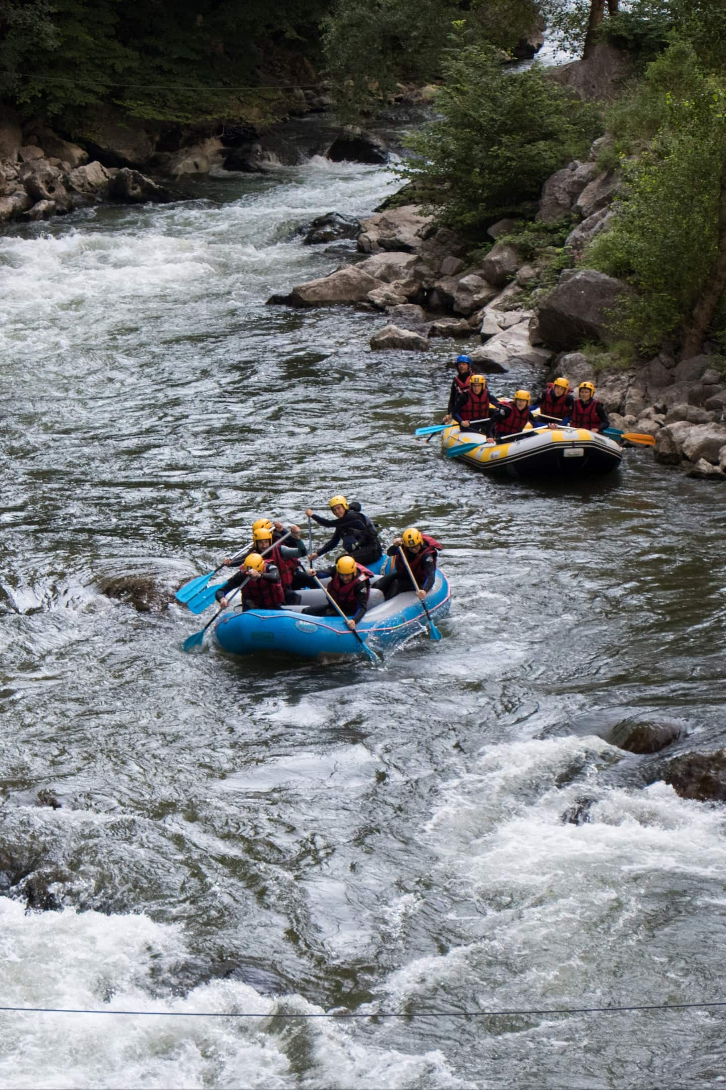 Bucket List activites france - Rafting Aude