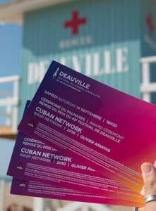 Billets festival de Deauville