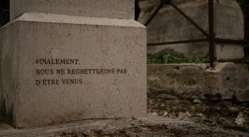 Pas de regret Pere Lachaise