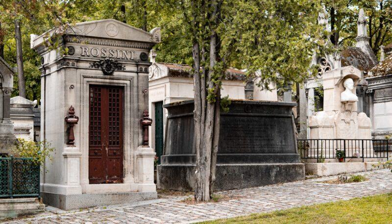 Tombe Rossini Pere Lachaise