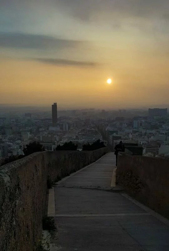 Coucher de soleil Alicante