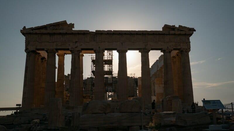 Parthenon Acropole
