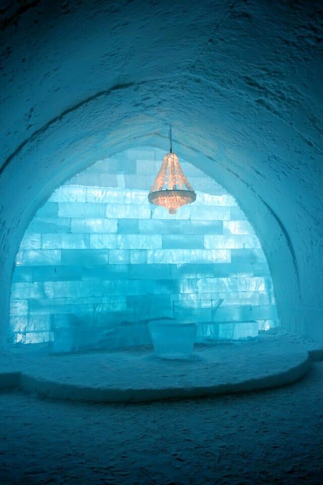 Bucket List - hotel de glace