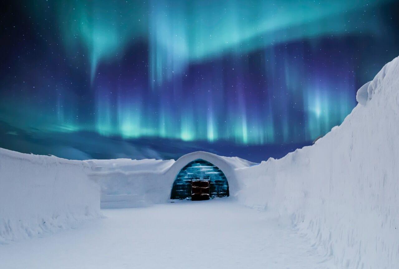winter bucket list - aurore boreale