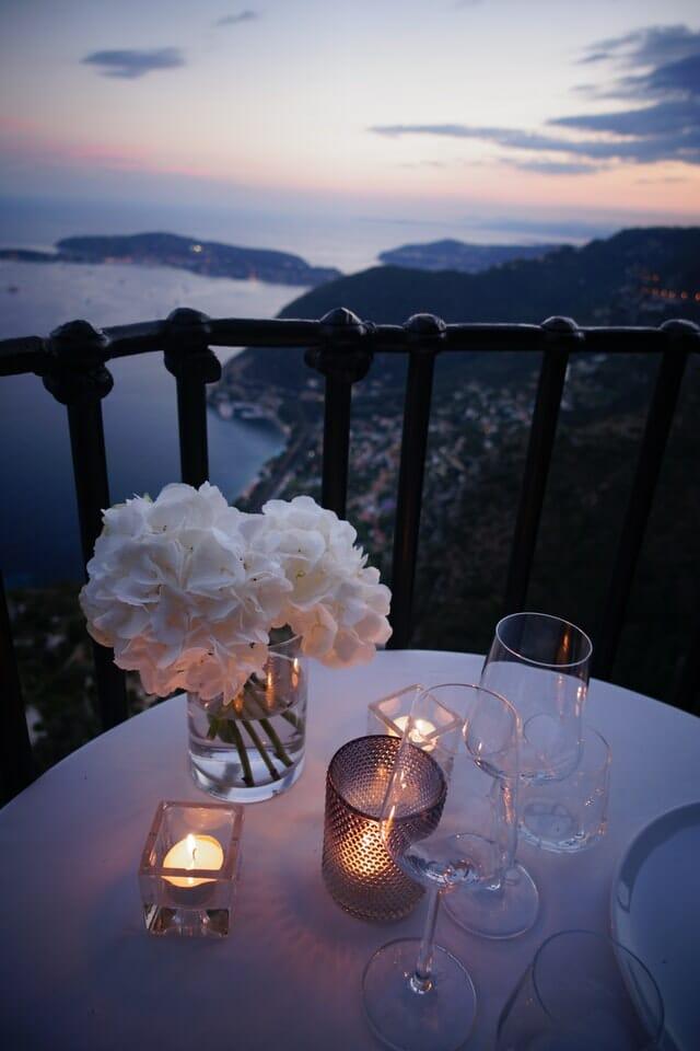 Bucket List Couple - Diner romantique