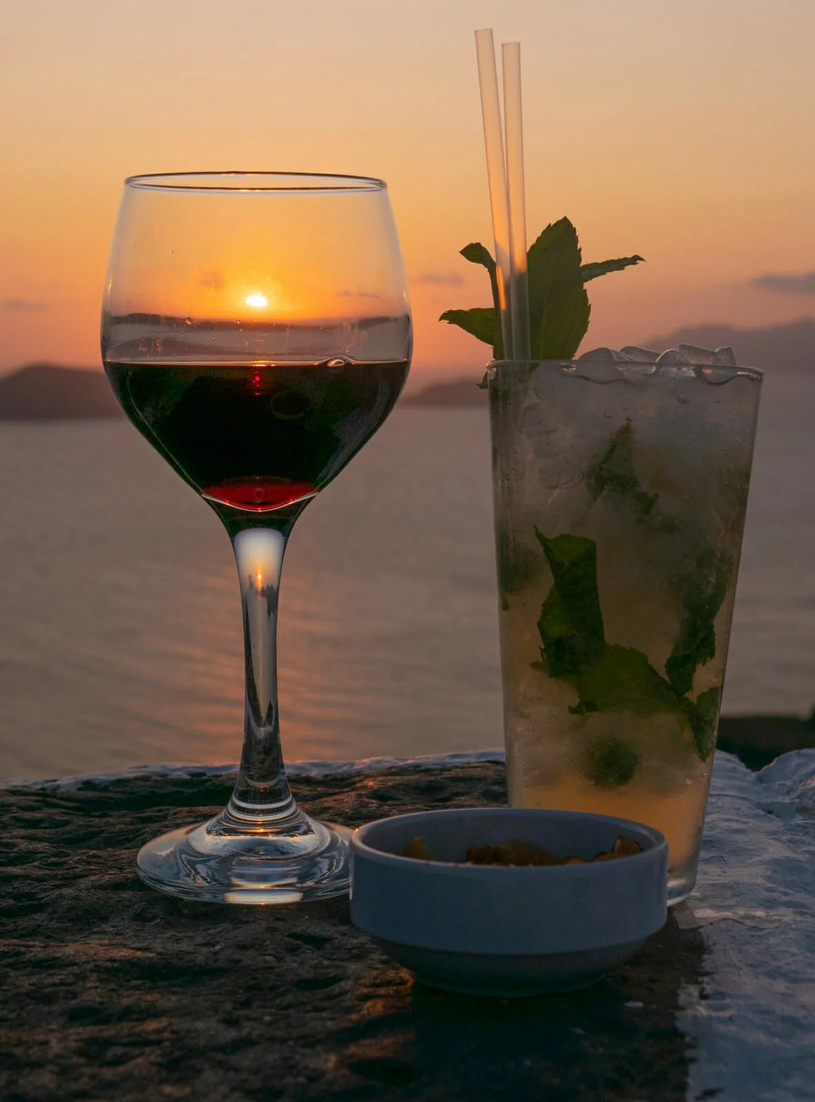 Cocktails Cyclades