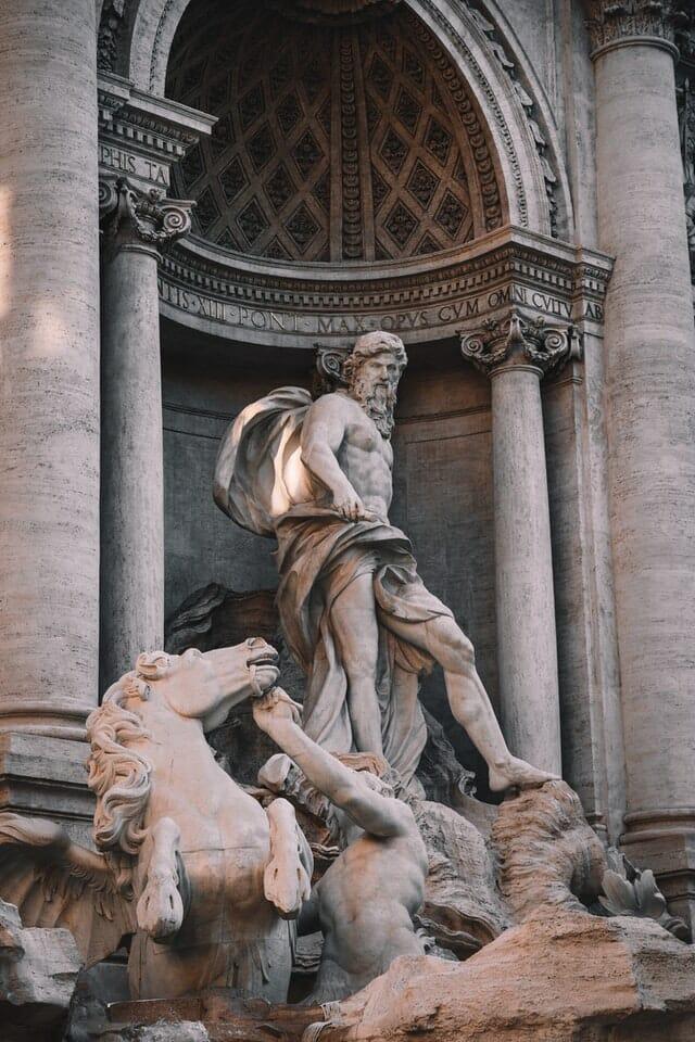 Fontaine de Trevi Neptune