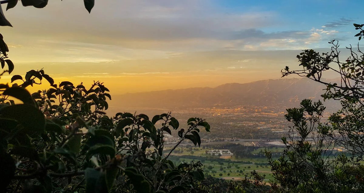 Hollywood Hills Sunset