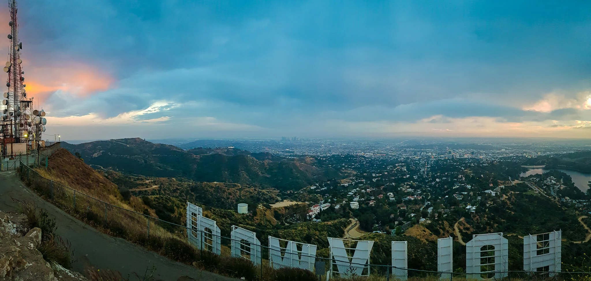Panoramique panneau Hollywood