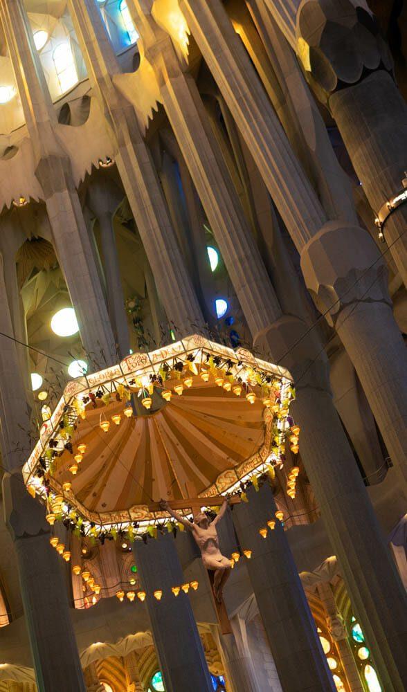 Sagrada Familia Barcelone vitraux