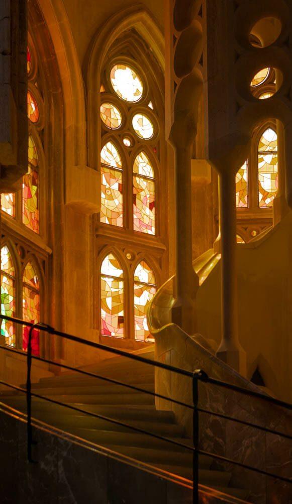 Sagrada Familia escaliers