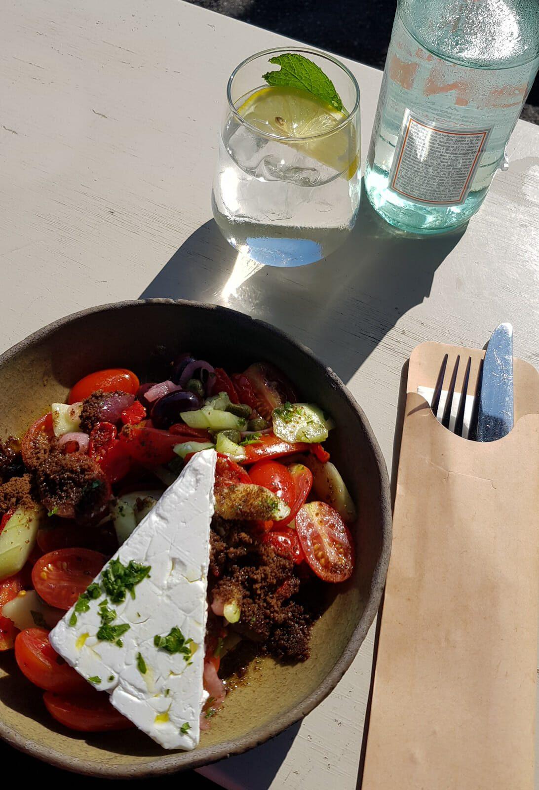 Salade grecque - Santorin