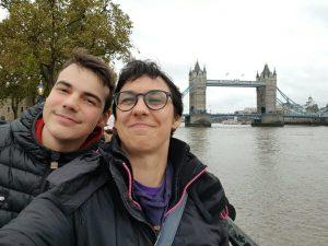 Virgo et Kylian Londres