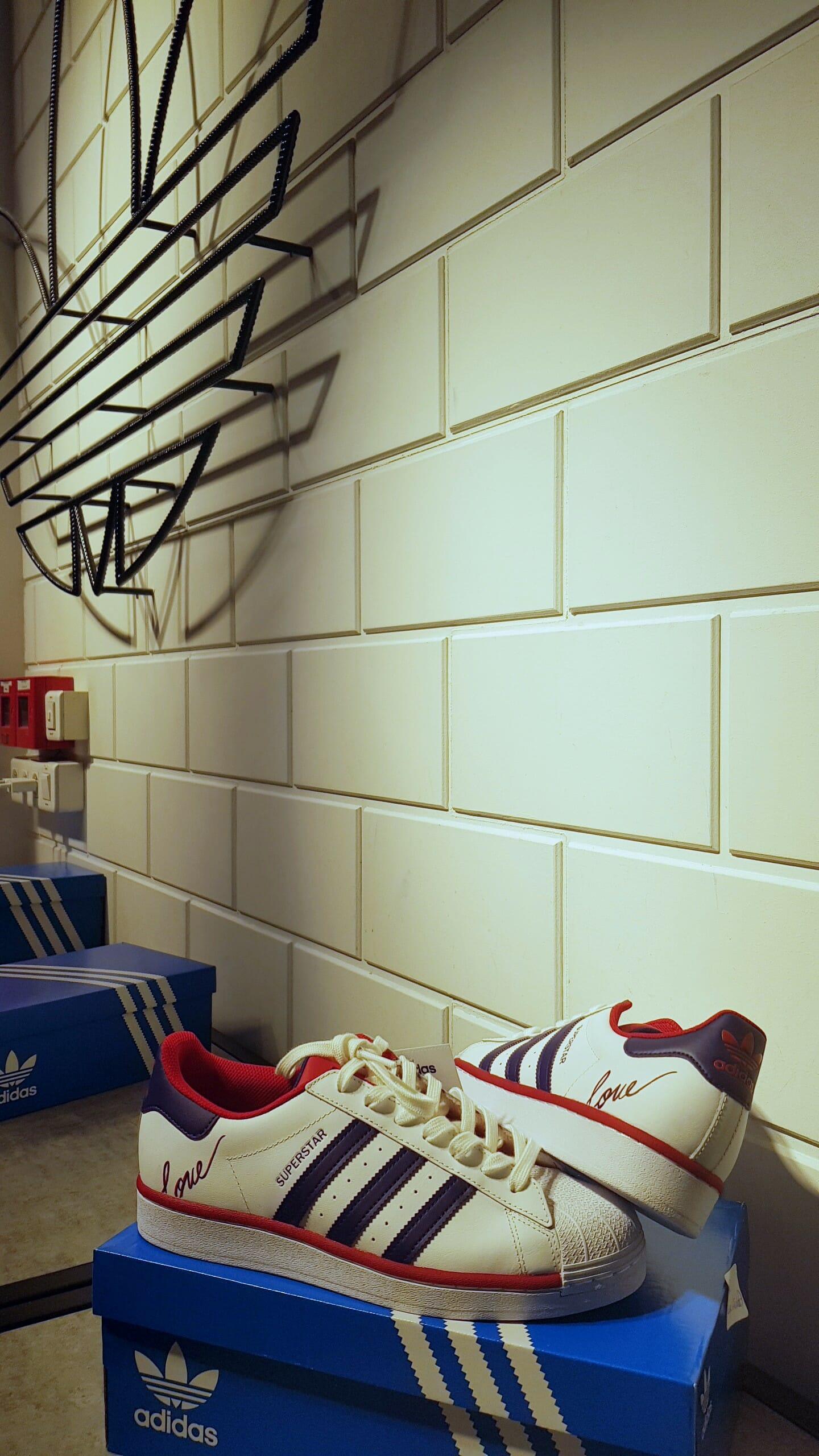 Sneakers customisés Adidas