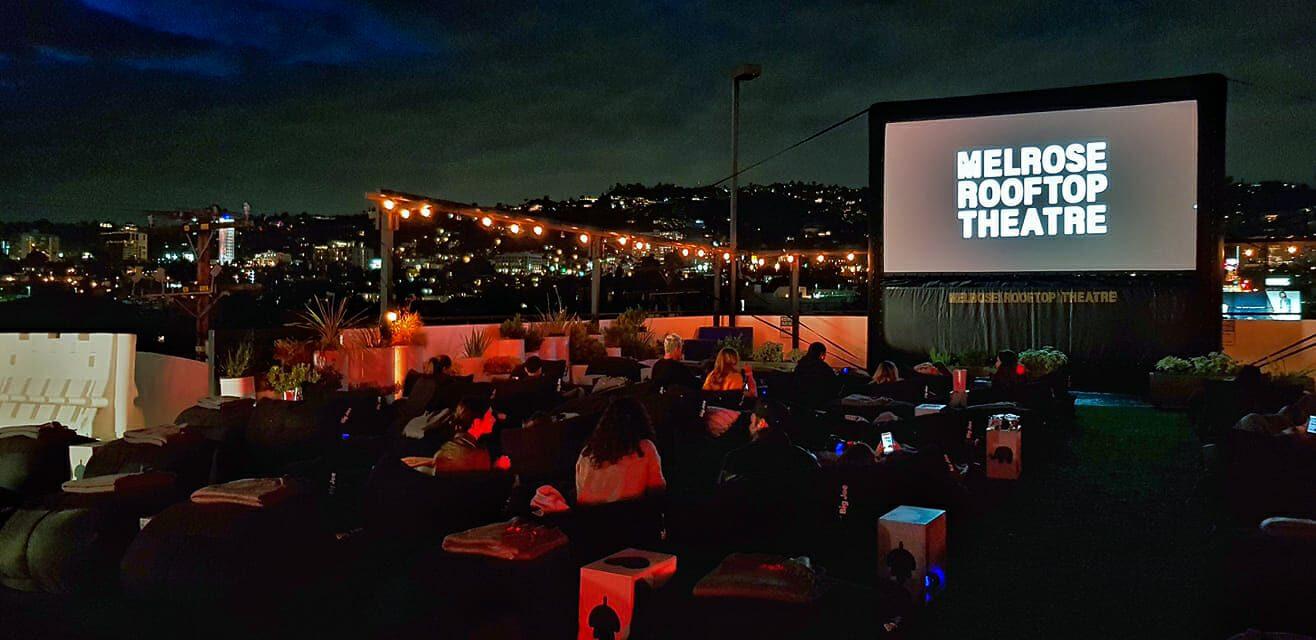 Virgo Melrosse Rooftop Cinema