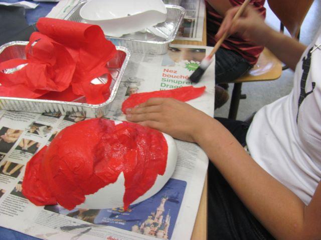 Atelier n°7 Les masques, première étape
