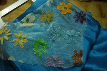 Chez Anaëlle, les fleurs seront turquoises et vertes