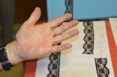 Aïe, la main de Christian a bien souffert !