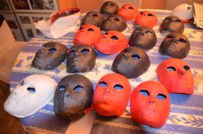 les 21 masques sont coupés correctement