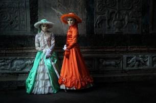 Venise 2015 Margot et Maeve