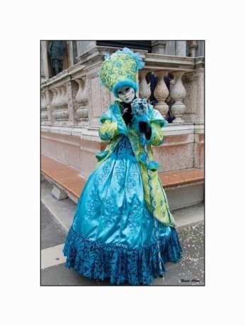 Objectif carnaval bleu et vert 1