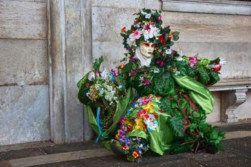 Blumenefeu Frau 0106