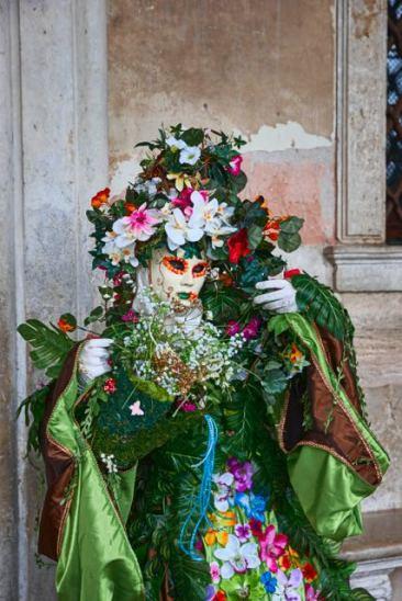 Blumenefeu Frau 0112
