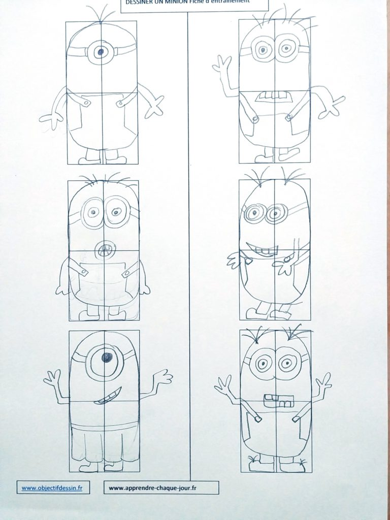 Comment Dessiner Un Minion : comment, dessiner, minion, Dessiner, Minion, étapes
