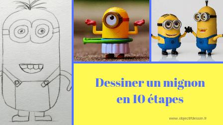 comment dessiner un minion en 10 étapes