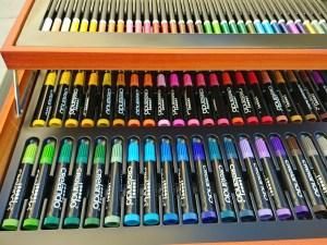 crayons et feutres