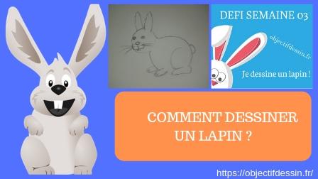 comment dessiner un lapin