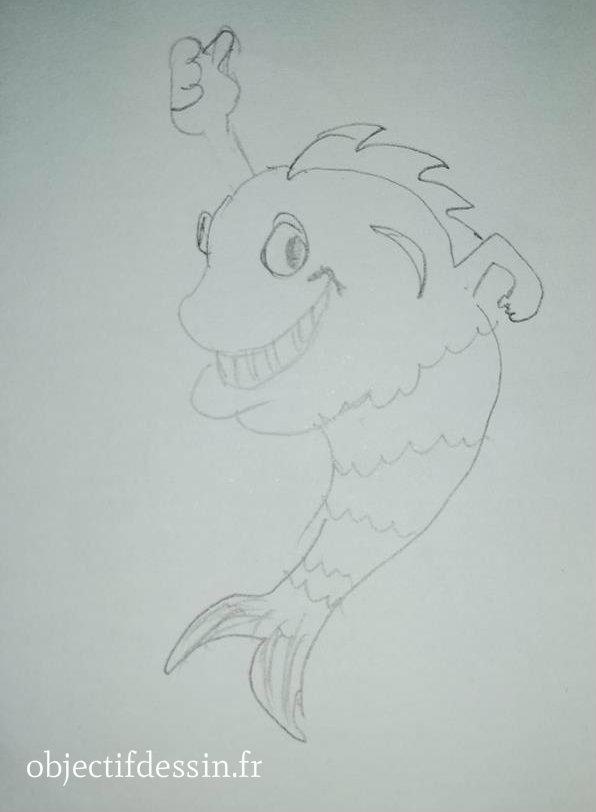 dessin poisson ISA