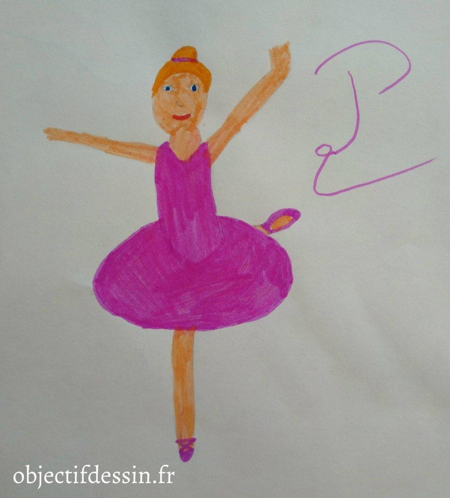 P2 dessin danseuse