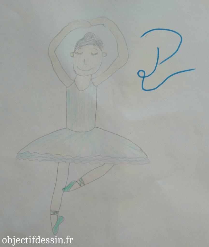 P3 dessin danseuse