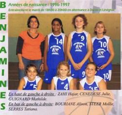 2008-2009 Benjamines