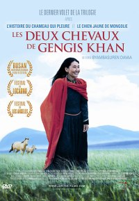 Les-deux-chevaux-de-Gengis-Khan cinéma mongolie