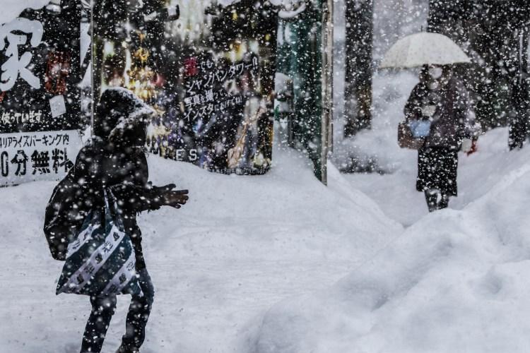 Sapporo Hokkaido Japan Winter