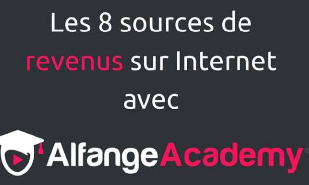 8 moyens de gagner de l'argent avec Alfange Academy