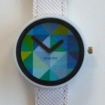 Grid Blue watch