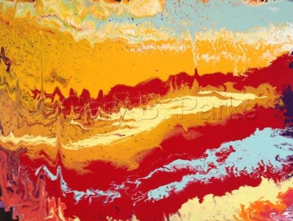 """Painting """"sedona"""" Original Art Gary . Parks"""